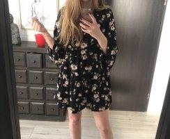 Blumenprint Kleid mit ausfallenden Ärmeln