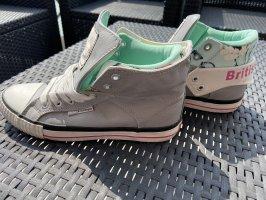 Blumige Sneaker