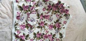 Felpa kimono bianco-rosa chiaro