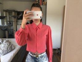 Zara Camicetta a maniche lunghe rosso lampone