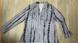 Colletto camicia grigio-nero