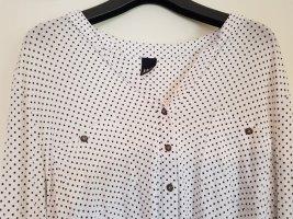 BC Long Sleeve Blouse white-black