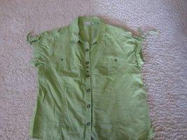 Boule Blouse lime-green-meadow green mixture fibre