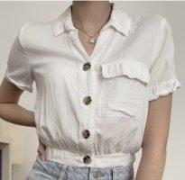 Tally Weijl Blusa de manga corta blanco