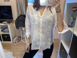 Zara Linen Blouse white