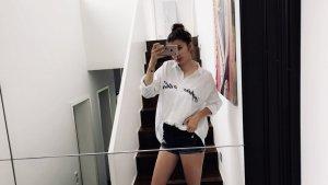 Zara Blusa taglie forti bianco