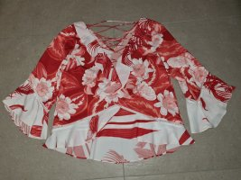 Guess by Marciano Ruffled Blouse red