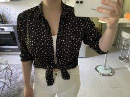 New Yorker Glanzende blouse zwart-wit