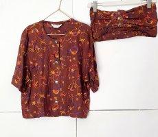 Bluse Hemd von max Mara gr. 42 mit taillengürtel