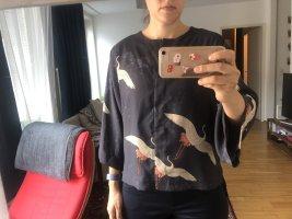 Bluse im Kimono Stil M