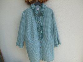 Bluse im Trachtenstil Gr. 48 tailiert