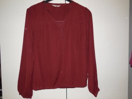 Bluse in Rot von Clockhouse