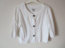 Bluse kurz weiß Taille 2