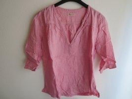 Jackpot Blusa in lino rosa Lino
