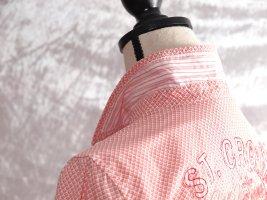 Lerros Koszulowa bluzka jasnoczerwony-biały Bawełna