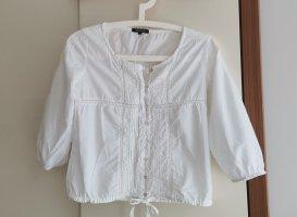 Deichgraf Shirt Blouse white cotton