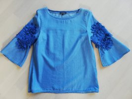 Bluse mit Applikation, Denim-Style, More&More, Gr. 34