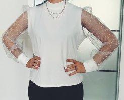 Ayanapa Transparent Blouse white