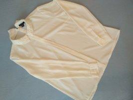 Amisu Stand-Up Collar Blouse white