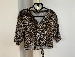 Bluse mit Leopadenprint von Abercrombi