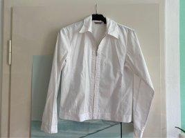 Turnover Long Sleeve Blouse white