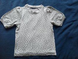 Reserved Blouse topje zwart-grijs