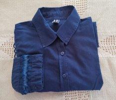 Jean Paul Gaultier Camicia blusa blu scuro