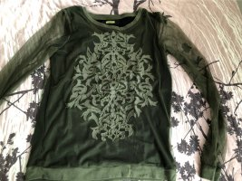 Next Long Sleeve Blouse dark green