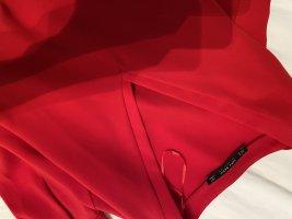 Zara Blouse brillante rouge polyester
