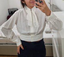Bluse Sandro neu mit Etikett weiß schleife
