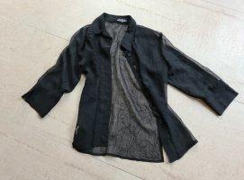 17&co Blouse transparente noir