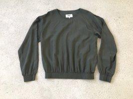 Bluse Shirt Maison Martin Margiela graubraun taupe Grösse 44