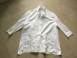 Alpha Bluzka oversize biały Bawełna