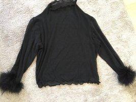 Bluse transparent Gr.32-34