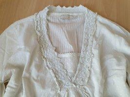 Cream Bluzka tunika w kolorze białej wełny