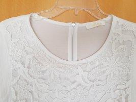 Airfield Mouwloze blouse wit