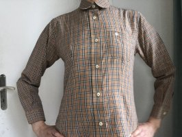 Burberry Shirt Blouse red-sand brown cotton