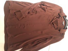 Gigue Blouse brillante brun-cognac