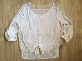 Guess Wraparound Blouse white