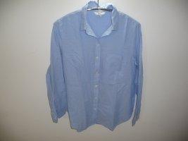 H&M Long Sleeve Blouse azure cotton