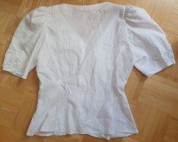 Höpfner Kreukelblouse wit Polyester