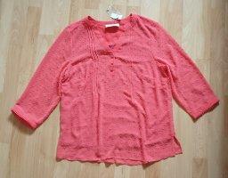 Bluse von Judith Williams I love Milano - Gr. 38 korallefarben - NEU!