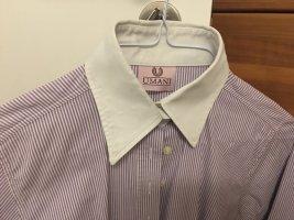 Umani Camicia blusa bianco-lilla