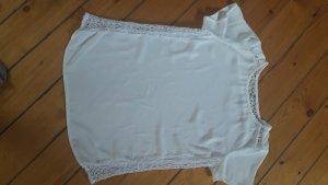 Promod Bluzka o kroju koszulki w kolorze białej wełny