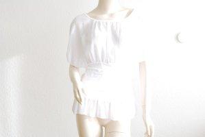 Camicia stile impero bianco Viscosa