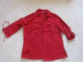 Canda Blouse Jacket red-dark red mixture fibre