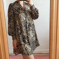 Blusenkleid mit Muster