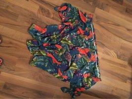 Janina Shirt Tunic turquoise-magenta