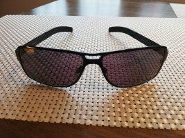 BMW Hoekige zonnebril zwart