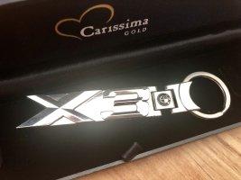 BMW Key Chain silver-colored metal